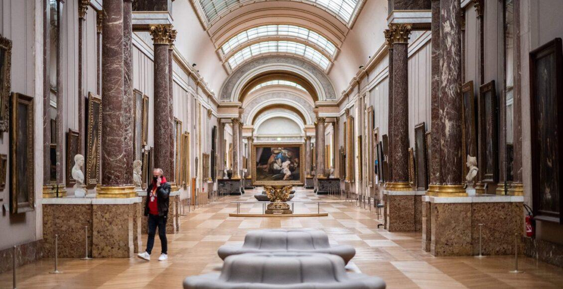 متحف اللوفر متاح الآن على الإنترنت