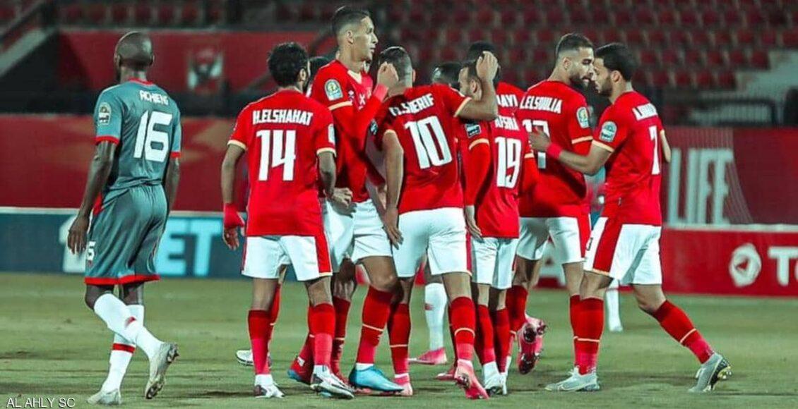 الأهلي المصري يهزم سيمبا في مباراة تحصيل حاصل